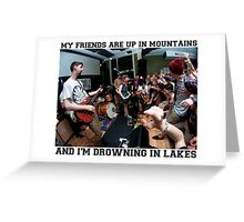 Tigers Jaw - I Saw Water Greeting Card