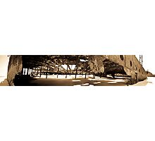 Maheno Shipwreck Panorama Photographic Print