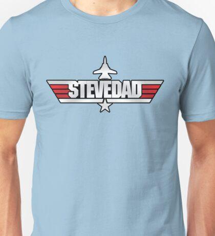 Custom Top Gun - Stevedad Unisex T-Shirt