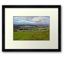 Wiltshire Countryside Framed Print