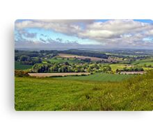 Wiltshire Countryside Canvas Print