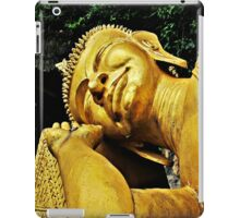 Let Sleeping Buddha Lie  iPad Case/Skin