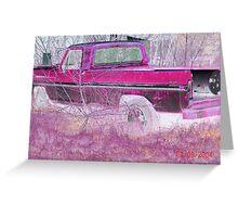 Ford Ranger.  Greeting Card