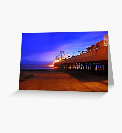 A Garage Door Opens to the Beach Greeting Card