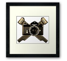 35mm Pirate Framed Print