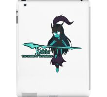 Kalista the spear of vengeance iPad Case/Skin