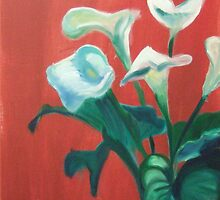 Lillies by Bernadette Burke