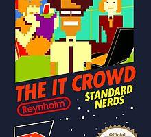The IT Crowd by Joefishjones .