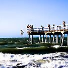 Jumping from the Pier by Marnie Hibbert