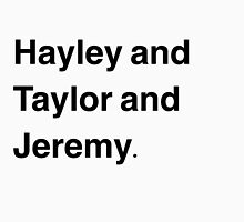 Hayley Taylor Jeremy Paramore Names by YoutubePmore