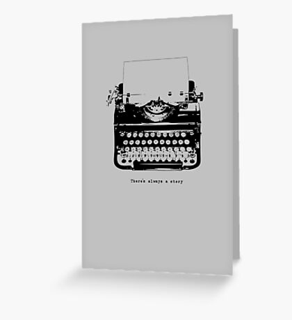 Always A Story Greeting Card