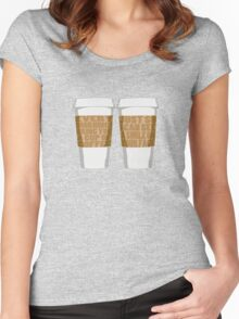 Morning Coffee Women's Fitted Scoop T-Shirt