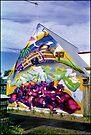 graffitti house newtown  by Juilee  Pryor