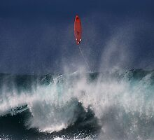 Let's go fly a surfboard on the North Shore. by Alex Preiss
