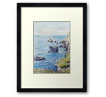The Northern Islets of Norfolk Framed Print