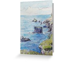 The Northern Islets of Norfolk Greeting Card