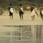 The Surfers by Mark Hayward