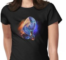 Tali'Zorah you Sweet Shiny Purple Womens Fitted T-Shirt