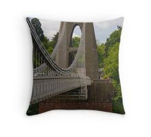 Clifton Suspension Bridge - Bristol Throw Pillow