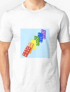The Domino Effect Unisex T-Shirt