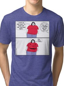 CARTOON : Cheap Costume Tri-blend T-Shirt
