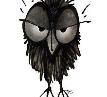 Grumpy Owl by StrangeStore