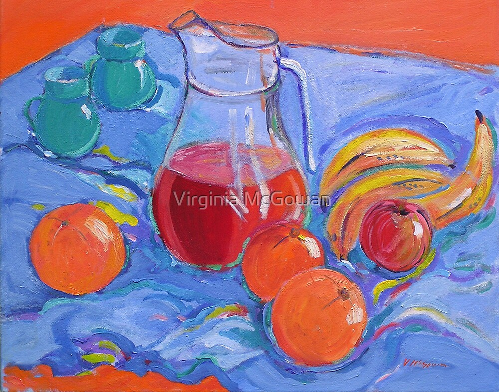 The Blue Coffee Cups by Virginia McGowan