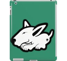 English Bull Terrier Planning Trouble iPad Case/Skin