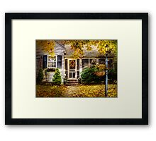 In Autumn Framed Print