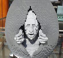 Lego Easter Egg, Nathan Sawaya, Artist, Faberge Big Egg Hunt, New York City by lenspiro