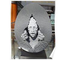 Lego Easter Egg, Nathan Sawaya, Artist, Faberge Big Egg Hunt, New York City Poster