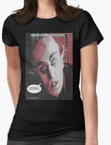 """'Count Orlock, the Vampire #3', FROM THE FILM """" Nosferatu vs. Father Pipecock & Sister Funk (2014)"""" T-Shirt"""