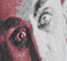 """'Count Orlock, the Vampire #3', FROM THE FILM """" Nosferatu vs. Father Pipecock & Sister Funk (2014)"""" Sticker"""