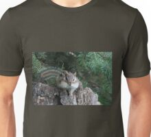 Puffy-cheeked chipmunk Unisex T-Shirt