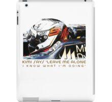 Kimi 2012 F1 iPad Case/Skin