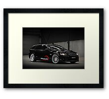 Diane's VE SS Holden Commodore Wagon Framed Print