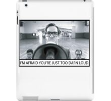 Too Darn Loud iPad Case/Skin