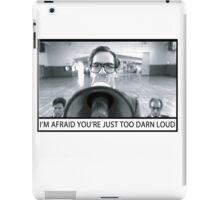 Too Darn Loud iPad Case/Skin