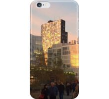 High Line at Sunset, New York City's Elevated Park and Garden iPhone Case/Skin
