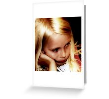 Can we go home now? Greeting Card