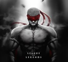 League of Legends - Lee Sin by leagueofposters