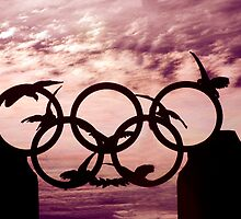 Olympic rings by imagesbyjudd
