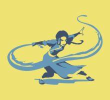 Minimalist Katara from Avatar the Last Airbender One Piece - Short Sleeve