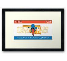 Tulsa OKC Framed Print
