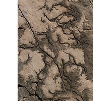 Rock patterns Photographic Print