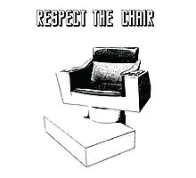 Respect the Chair- Star Trek: Into Darkness Photographic Print