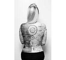 Tattoo Info Photographic Print