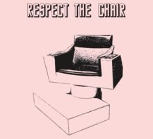 Respect the Chair- Star Trek: Into Darkness Kids Clothes