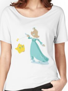 Minimalist Rosalina from Super Smash Bros. 4 Women's Relaxed Fit T-Shirt