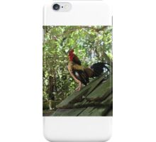 Rooster on a Roof  iPhone Case/Skin